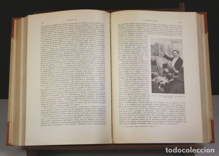Libros antiguos: 5050-2 - HISTORIA DE LA MÚSICA. TOMOS I Y II. (VER DESCRIP). VV. AA. EDIT. LABOR. 1950. - Foto 8 - 75335555