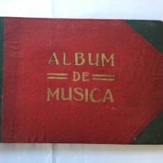 Libros antiguos: CUADERNO/MUSICAL.-(H.1920). Lote 77510626