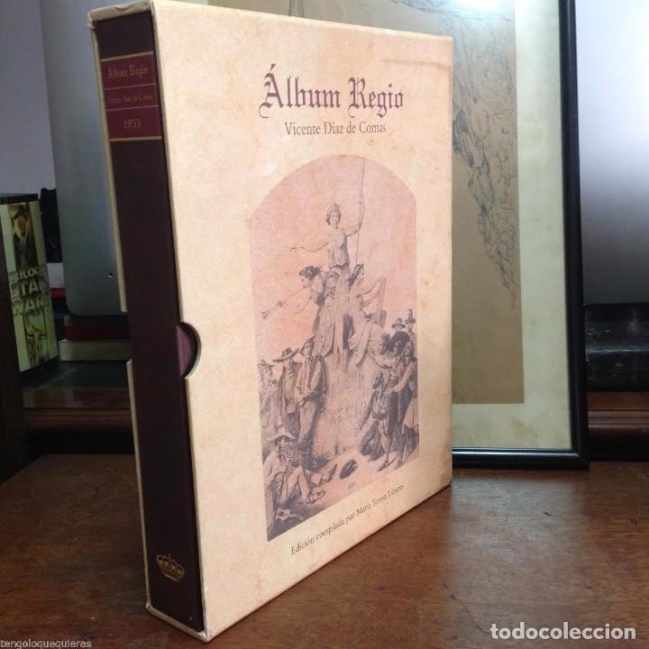 ÁLBUM REGIO DE VICENTE DÍAZ DE COMAS FACSIMIL DEL AÑO 1998 CON CD (Libros Antiguos, Raros y Curiosos - Bellas artes, ocio y coleccion - Música)