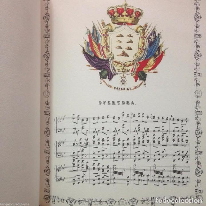 Libros antiguos: ÁLBUM REGIO de VICENTE DÍAZ DE COMAS FACSIMIL del AÑO 1998 con CD - Foto 2 - 84003636