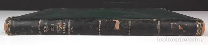 MÚSICAL. AÑO 5. TOMO 5. MÚSICA. VARIOS TÍTULOS Y AUTORES. EDITOR ZOZAYA. S/F. (Libros Antiguos, Raros y Curiosos - Bellas artes, ocio y coleccion - Música)