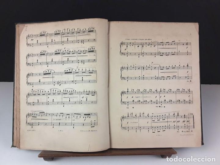 Libros antiguos: MÚSICAL. AÑO 5. TOMO 5. MÚSICA. VARIOS TÍTULOS Y AUTORES. EDITOR ZOZAYA. S/F. - Foto 6 - 86934820