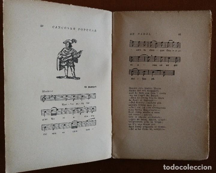 Libros antiguos: CANÇONER POPULAR DE NADAL JOAN LLONGUERES BARCELONA 1931 - Foto 3 - 95263512
