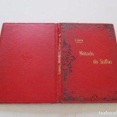 Libros antiguos: D. HILARION ESLAVA. MÉTODO COMPLETO DE SOLFEO SIN ACOMPAÑAMIENTO. RMT81626. . Lote 90445964