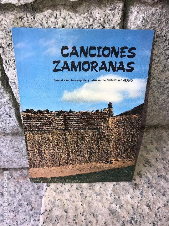 ZAMORANAS CANCIONES (Libros Antiguos, Raros y Curiosos - Bellas artes, ocio y coleccion - Música)