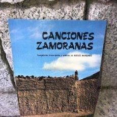 Libros antiguos: ZAMORANAS CANCIONES. Lote 91223465