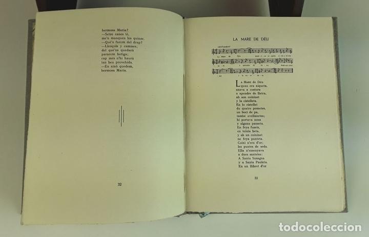 Libros antiguos: VINT CANÇONS CATALANES. EJEMPLAR Nº 29. ROBERT D'AUSONA. EDICIONES ESTEL D'OR. 1935. - Foto 4 - 92340660