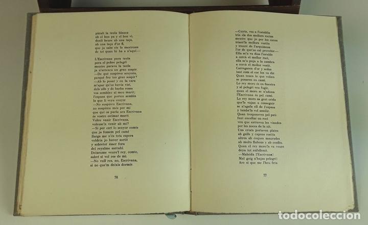 Libros antiguos: VINT CANÇONS CATALANES. EJEMPLAR Nº 29. ROBERT D'AUSONA. EDICIONES ESTEL D'OR. 1935. - Foto 5 - 92340660