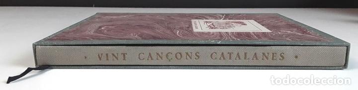 Libros antiguos: VINT CANÇONS CATALANES. EJEMPLAR Nº 29. ROBERT D'AUSONA. EDICIONES ESTEL D'OR. 1935. - Foto 7 - 92340660