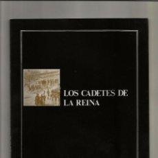 Libros antiguos: HISTORIA DE LA ZARZUELA - ZACOSA - LOS CADETES DE LA REINA - SINOPSIS. Lote 93652190