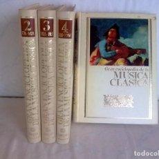 Libros antiguos: GRAN-ENCICLOPEDIA-MÚSICA-CLÁSICA. Lote 97770375