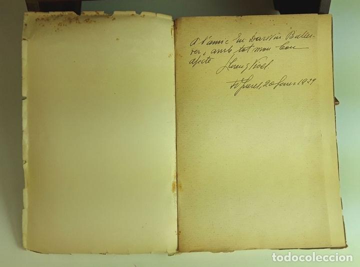 Libros antiguos: CANTS D'AMOR I DE DOLOR. LLORENÇ VIVES. TALLERS GRÁFICS EUGENI GISPERT. 1928. - Foto 2 - 97780931
