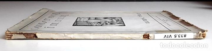Libros antiguos: CANTS D'AMOR I DE DOLOR. LLORENÇ VIVES. TALLERS GRÁFICS EUGENI GISPERT. 1928. - Foto 6 - 97780931