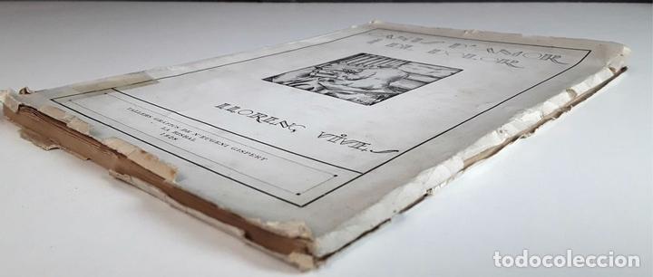 Libros antiguos: CANTS D'AMOR I DE DOLOR. LLORENÇ VIVES. TALLERS GRÁFICS EUGENI GISPERT. 1928. - Foto 7 - 97780931