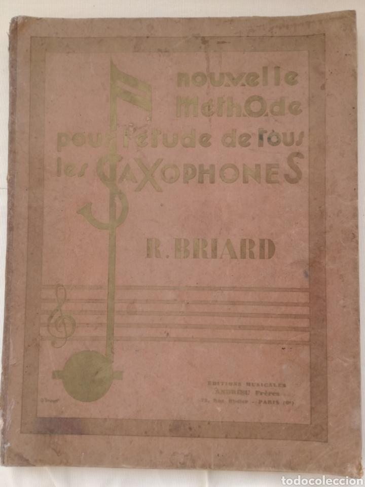 ANTIGUO MÉTODO PARA SAXOFÓN 1930 (Libros Antiguos, Raros y Curiosos - Bellas artes, ocio y coleccion - Música)