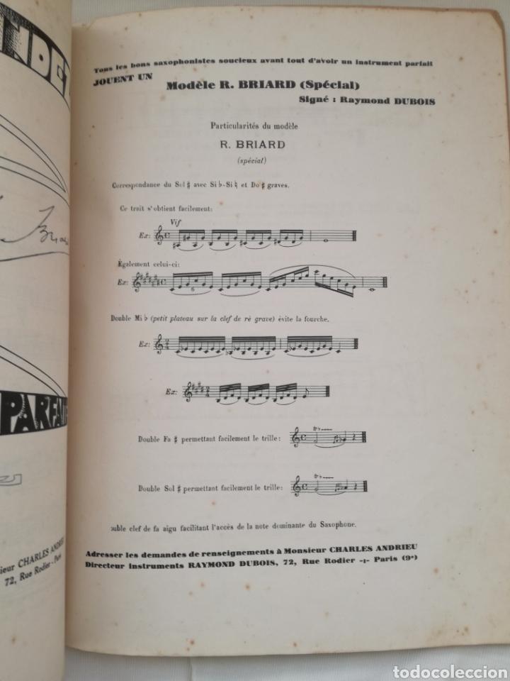 Libros antiguos: Antiguo Método para Saxofón 1930 - Foto 6 - 97810368