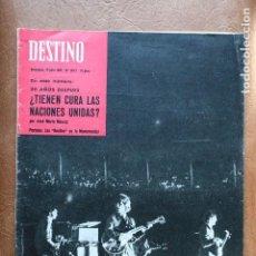 Libros antiguos: BEATLES EN BARCELONA - 1965 - REVISTA DESTINO. Lote 98113215