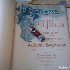 Libros antiguos: ANTIQUISIMO GRAN TOMO PIEZAS DE MUSICA DIFERENTES AUTORES MIRAR FOTOS PARA VER MEJOR . Lote 98577055