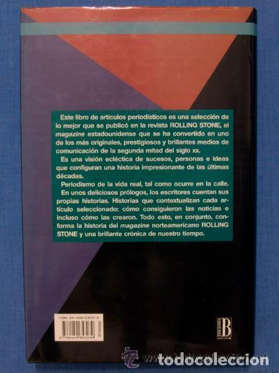 Libros antiguos: LO MEJOR DE ROLLING STONE * Libro tapas duras 587 páginas - Foto 4 - 99112451