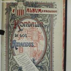 Libros antiguos: LIBRO RONDALLA DE LOS AMANTES (1900?). Lote 100101315