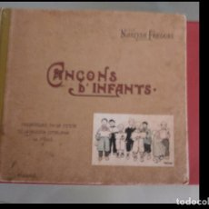 Libros antiguos: CANÇONS D'INFANTS. NARCISA FREIXAS.. Lote 100153119
