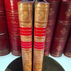 Libros antiguos: C. DE ROMANCES CASTELLANOS ANTERIOR AL SIGLO XVIII - ROMANCERO DE ROMANCES CABALLERESCOS E HISTÓRICO. Lote 101703507