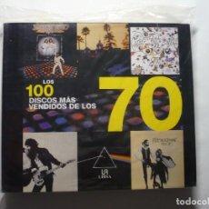 Libros antiguos: LOS 100 DISCOS MAS VENDIDOS DE LOS 70.. Lote 103154555