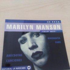 Libros antiguos: LIBRO MARILYN MANSON ( BIOGRAFIA ). Lote 103569699