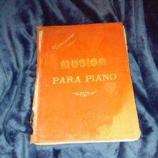 Libros antiguos: REVISTA ANTIGUA L ILLUSTRATION 1898-1901 PARTITURAS PARA PIANO. Lote 105962015