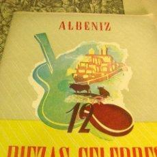 Libros antiguos: LIBRO DEL AÑO 1967 ALBENIZ PIEZAS CELEBRES.. Lote 48728781