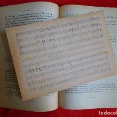 Libros antiguos: TRATADO DE ARMONIA CURSO PRIMERO Y PARTITURA MANUSCRITA - SOCIEDAD DIDÁCTICO MUSICAL - MADRID 40S. Lote 108933859