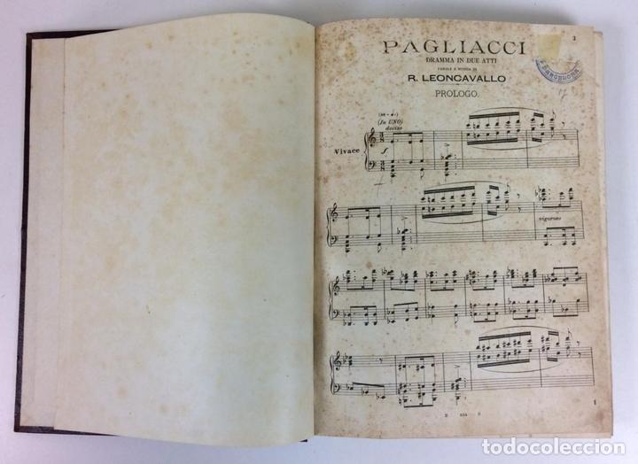 Libros antiguos: 6440- PAGLIACCI. R. LEONCAVALLO. DRAMA EN 4 ACTOS. SIN FECHA. - Foto 4 - 49647998