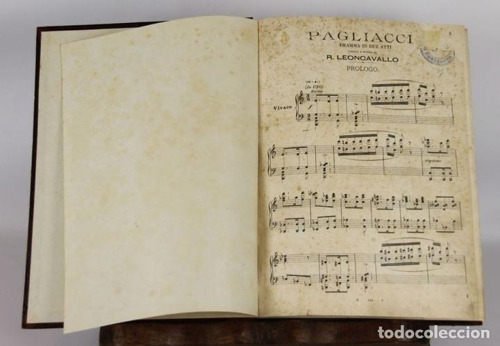 Libros antiguos: 6440- PAGLIACCI. R. LEONCAVALLO. DRAMA EN 4 ACTOS. SIN FECHA. - Foto 10 - 49647998