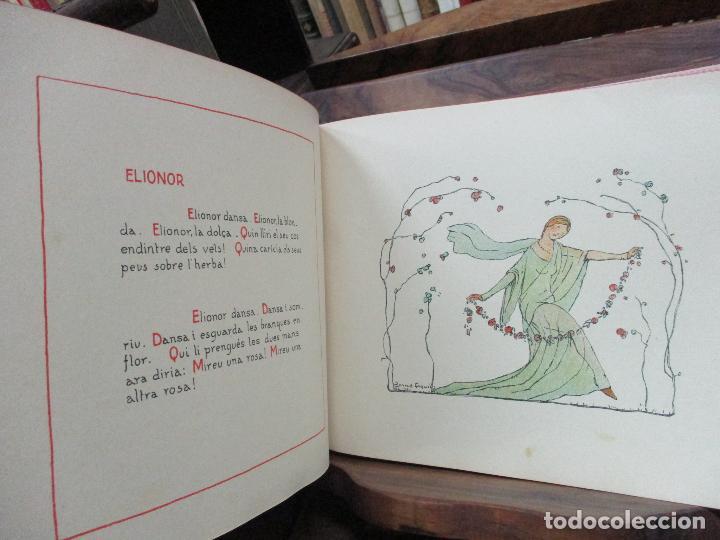 Libros antiguos: OBRES DE NARCISA FREIXAS. EDICIÓ DHOMENATGE. 1928. IL·LUSTRAT AMB PARTITURES I DIBUIXOS - Foto 14 - 110284639