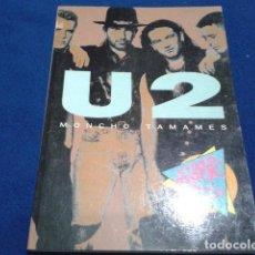 Libros antiguos: SALVAT VIDEO ROCK ( U2 ) MONCHO TAMAMES 1990. Lote 111683943