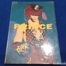 Libros antiguos: SALVAT VIDEO ROCK ( PRINCE ) 1990 SILVIA NIETO. Lote 111684103