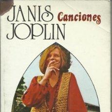 Libros antiguos: JANIS JOPLIN, CANCIONES ( INGLÉS - ESPAÑOL ). Lote 113113783
