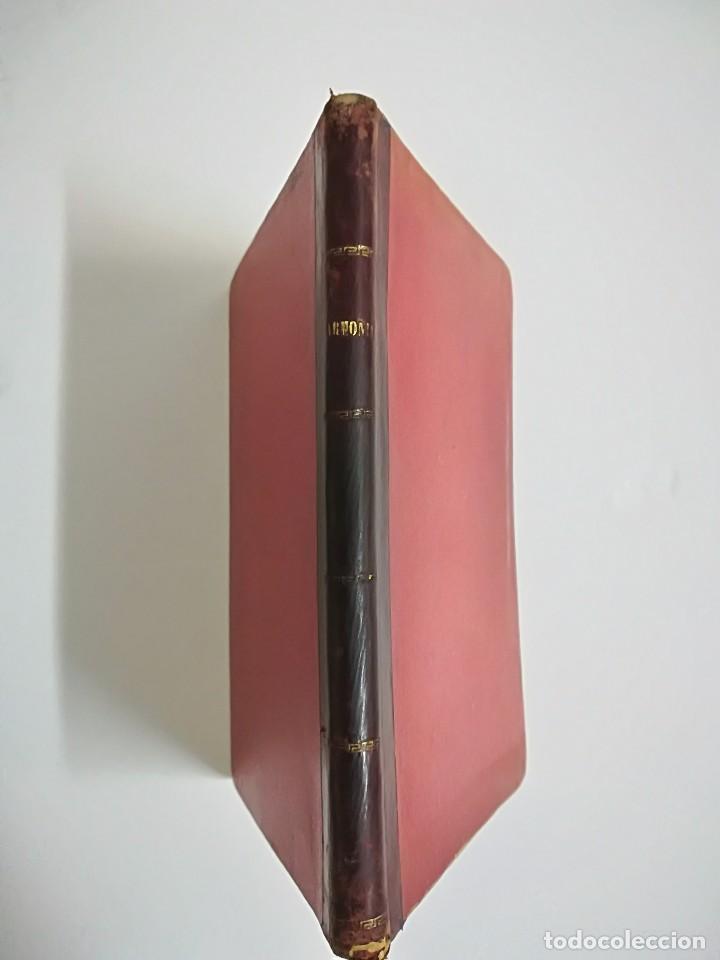 Libros antiguos: 1885 - ANTONIO LOZANO - PRONTUARIO DE ARMONÍA - Foto 2 - 113280455