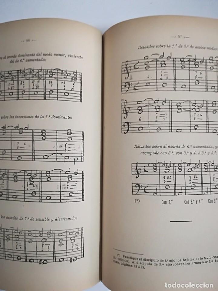Libros antiguos: 1885 - ANTONIO LOZANO - PRONTUARIO DE ARMONÍA - Foto 8 - 113280455