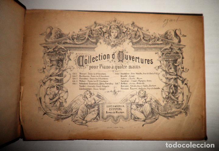 Libros antiguos: OBERTURAS DE MOZART - PARTITURAS SIGLO XIX.AÑO 1870. - Foto 2 - 222042207
