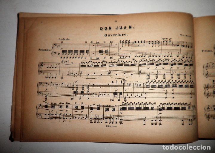 Libros antiguos: OBERTURAS DE MOZART - PARTITURAS SIGLO XIX.AÑO 1870. - Foto 6 - 222042207