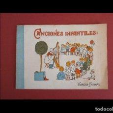 Libros antiguos: CANCIONES INFANTILES. NARCISA FREIXAS. Lote 116099283
