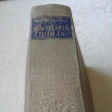 Libros antiguos: SAGRADA BIBLIA. Lote 112896503