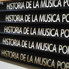 Libros antiguos: COLECCION HISTORIA DE LA MÚSICA POP. Lote 112894667