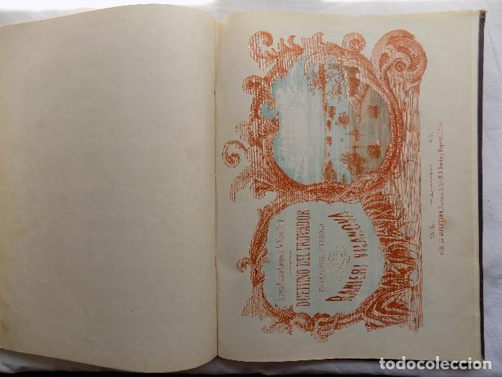 Libros antiguos: LIBRERIA GHOTICA. PIEZAS PARA PIANO.VARIAS OBRAS. 1870. GRAN FOLIO.PARTITURAS GRABADAS CON PLANCHA. - Foto 5 - 117028339