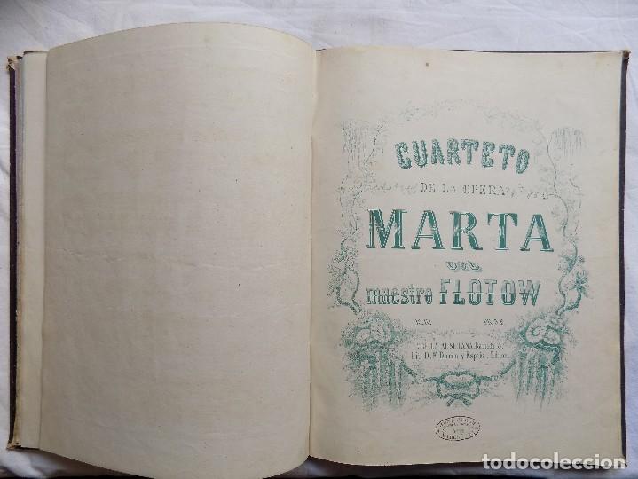 Libros antiguos: LIBRERIA GHOTICA. PIEZAS PARA PIANO.VARIAS OBRAS. 1870. GRAN FOLIO.PARTITURAS GRABADAS CON PLANCHA. - Foto 9 - 117028339