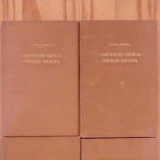 Livres anciens: 'CANCIONERO MUSICAL POPULAR ESPAÑOL'. FELIPE PEDRELL. 4 TOMOS. Lote 117131019