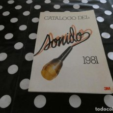 Libros antiguos: CATALGO DEL SONIDO AÑO 1981 . Lote 117280491