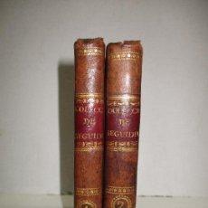 Libros antiguos: COLECCIÓN DE LAS MEJORES COPLAS DE SEGUIDILLAS Y POLOS QUE SE HAN COMPUESTO PARA CANTAR... 1816. Lote 117816967
