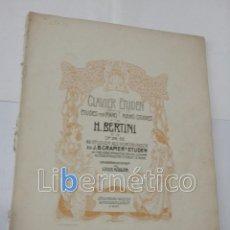 Libros antiguos: PARTITURA PARA PIANO. 48 STUDIES INTRODUCTORY TO DOSE OF J.B. CRAMER. Lote 118291675